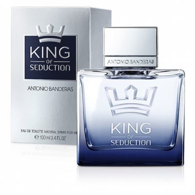 Imagem 1 do produto King of Seduction Antonio Banderas Eau de Toillete Masculino - 100 ml