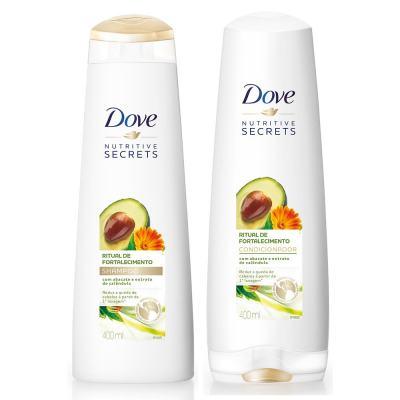 Kit Dove Ritual De Fortalecimento Shampoo + Condicionador 400ml