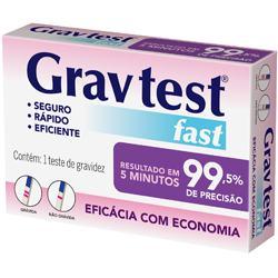 Imagem 1 do produto Teste de Gravidez Grav Teste Easy Loprofar 1 Teste