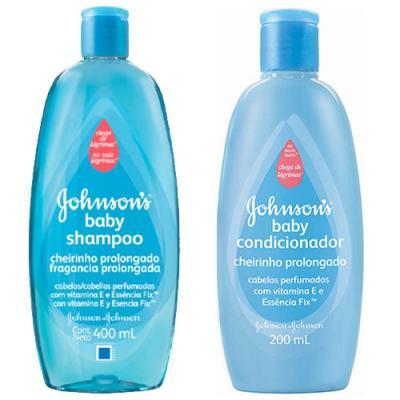 Shampoo + Condicionador Johnson's Baby Cheirinho Prolongado 200ml