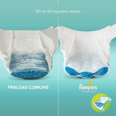 Imagem 4 do produto Fralda Descartável Pampers Confort Sec XG 34 Unidades