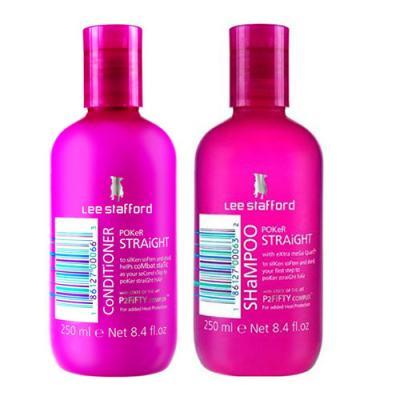 Imagem 1 do produto Kit Shampoo + Condicionador Lee Stafford Pocker Straight - Kit