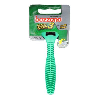 Imagem 3 do produto Kit Bozzano Espuma de Barbear Pele Sensível 190g + Aparelho de Barbear Speed 3