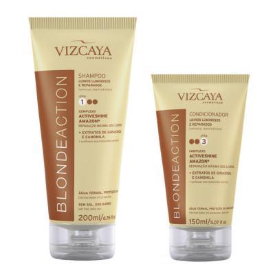 Kit Vizcaya Blonde Action Shampoo 200ml + Condicionador 150ml