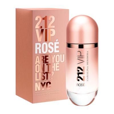 212 Vip Rose De Carolina Herrera Eau De Parfum Feminino - 50 ml