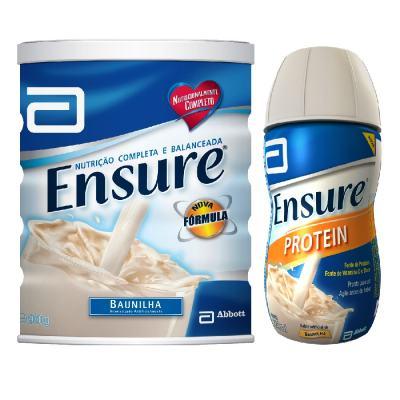 Imagem 1 do produto Complemento Alimentar Ensure Baunilha 900g + Ensure Protein Baunilha 220ml
