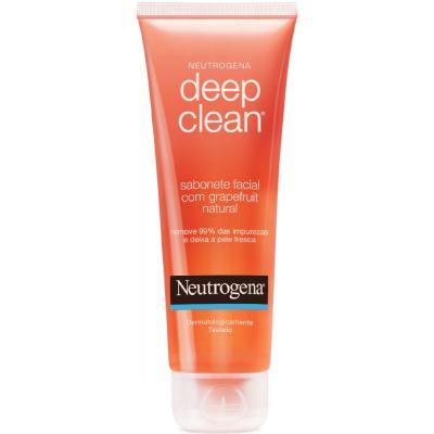 Imagem 2 do produto Neutrogena Deep Clean Em Gel Grapefruit 150g + Sabonete Esfoliante Facial Neutrogena Rapid Clear 80g