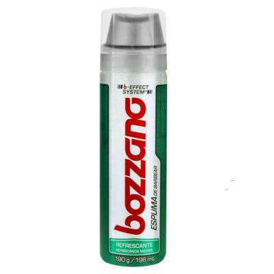 Imagem 2 do produto Kit Bozzano Espuma de Barbear Refrescante 190g + Aparelho de Barbear Speed 3