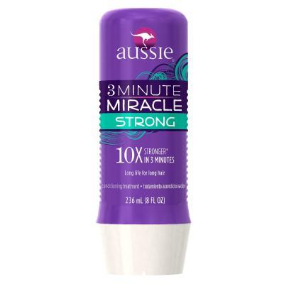 Imagem 3 do produto Kit Shampoo Aussie Moist 400ml + Tratamento Capilar Aussie Strong 3 Minutos Milagrosos 236ml