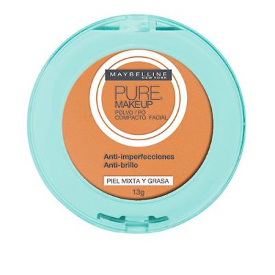 Pure Makeup Maybelline - Pó Compacto - Dourado