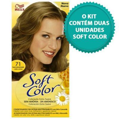 Imagem 1 do produto Tintura Soft Color Novo Louro Acinzentado 71 + Tintura Soft Color 71 Louro Acinzentado