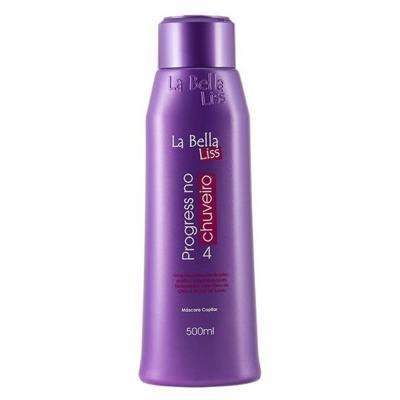 La Bella Liss Progressiva No Chuveiro - Máscara Capilar - 500ml