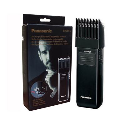 Barbeador E Máquina De Aparar Barba Panasonic Preta Sem Fio Profissional
