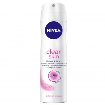 Desodorante Nivea Aerosol Clear Skin Feminino 150ml