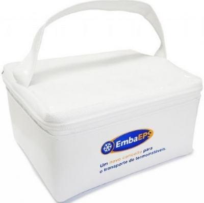 Bolsa Para Transporte De Insulina Com Gelo Reciclavel 13 X 10 X 5 Cm