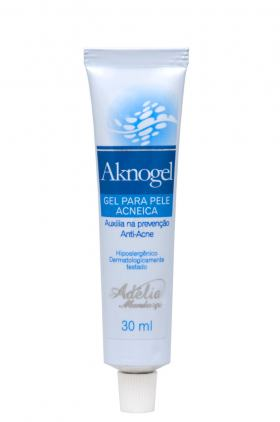 Aknogel 30ml - Gel Para Pele Acneica - 30ml
