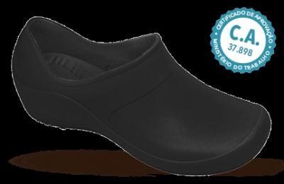 Sapato Profissional Feminino Mary Preto Boa Onda - 35