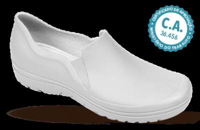Imagem 1 do produto Sapato Profissional Masculino Enzo Branco Boa Onda - 38