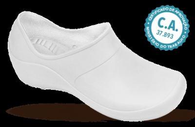 Sapato Profissional Feminino Mary Branco Boa Onda - 39