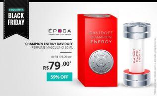 Davidoff Champion Energy: Fragrância para campeões