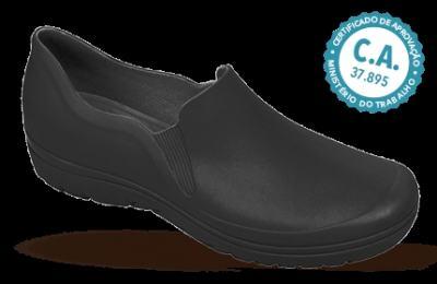 Imagem 1 do produto Sapato Profissional Masculino Enzo Preto Boa Onda - 43