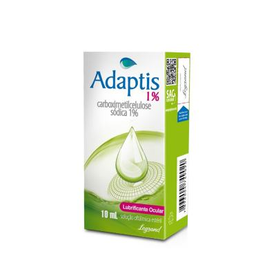 Adaptis 1% Colírio 10ml