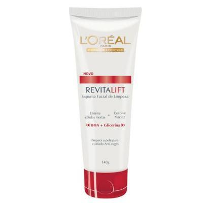 Imagem 1 do produto Limpeza Facial L'Oréal Paris Espuma de Limpeza Revitalift - 140g