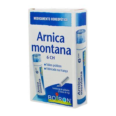Arnica Montana 6ch Glóbulos 2 Tubos 4g