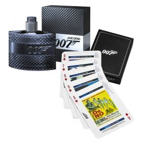 James Bond 007 James Bond - Masculino - Eau de Toilette - Perfume + Jogo de Cartas - Kit