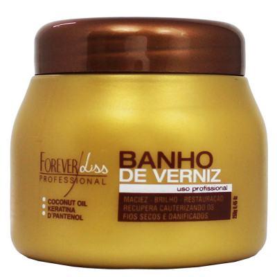 Forever Liss Banho de Verniz Brilho Hidratante - Máscara Capilar - 250g