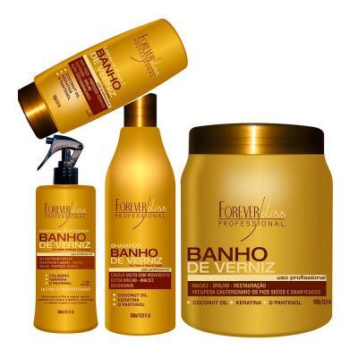 Imagem 2 do produto Forever Liss Banho de Verniz Brilho Hidratante - Máscara Capilar - 250g