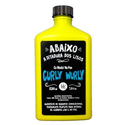 Lola Cosmetics Curly Wurly Co-Wash No-Poo 2 em 1  - Shampoo - 230ml