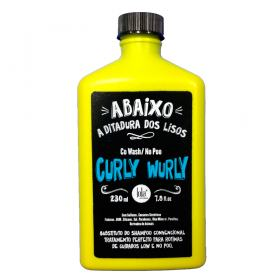 Lola Cosmetics Curly Wurly Co-Wash No-Poo 2 em 1  - Shampoo - 230ml