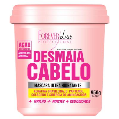 Forever Liss Desmaia Cabelo - Máscara Ultra Hidratante - 950g