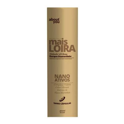 Imagem 2 do produto About You Mais Loira - Shampoo Desamarelador - 300ml