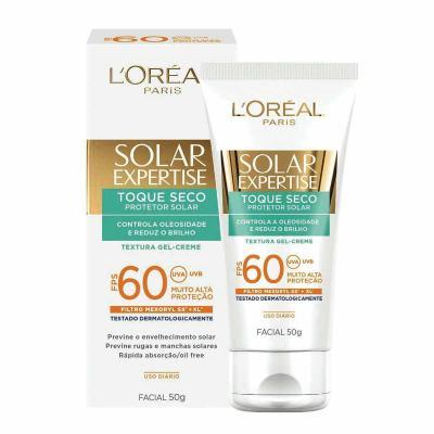 Imagem 1 do produto Protetor Solar L'oréal Facial Expertise Toque Seco Fps 60 50g