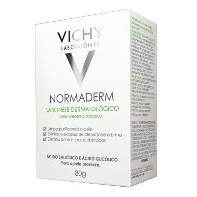 Sabonete Dermatológico Vichy Normaderm Pele Oleosa 80g