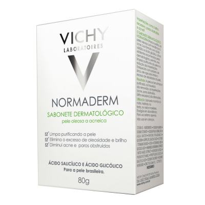 Imagem 1 do produto Sabonete Dermatológico Vichy Normaderm Pele Oleosa 80g