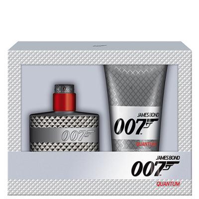 007 Quantum James Bond - Masculino - Eau de Toilette - Perfume + Gel de Banho - Kit