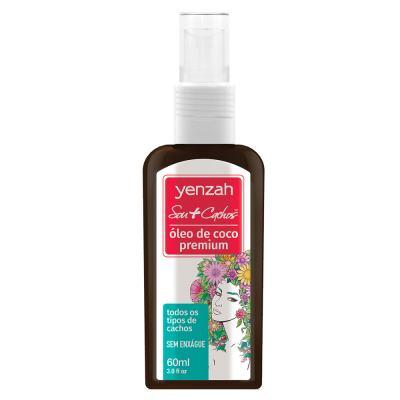 Yenzah Sou + Cachos Finalizador -  óleo De Coco Premium - 60ml