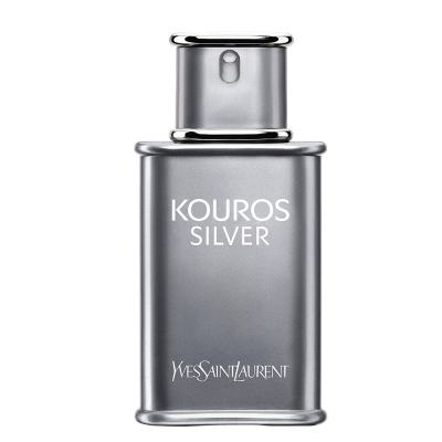 Kouros Silver Yves Saint Laurent - Perfume Masculino - Eau de Toilette - 50ml