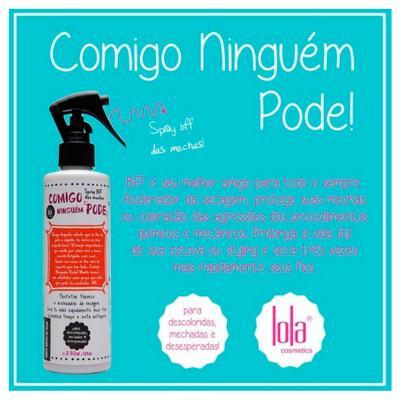 Imagem 2 do produto Lola Cosmetics Comigo Ninguém Pode BFF - Protetor Térmico - 230ml