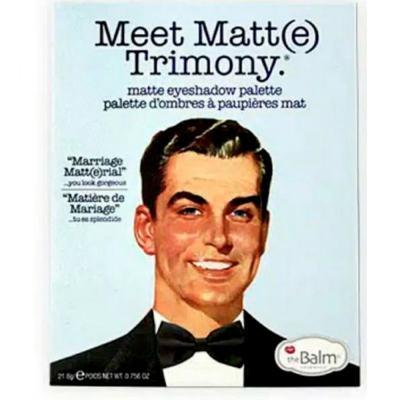 Imagem 2 do produto Meet Matt(e) Trimony The Balm - Paleta de Sombras - 1 Un