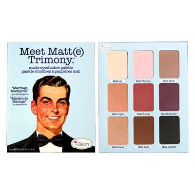 Imagem 3 do produto Meet Matt(e) Trimony The Balm - Paleta de Sombras - 1 Un