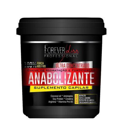 Imagem 2 do produto Kit Shampoo + Creme de Hidratação Forever Liss Professional Anabolizante Capilar - Kit