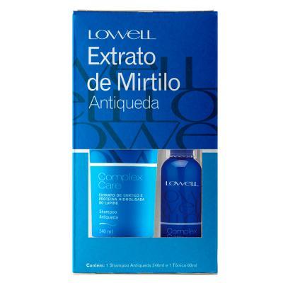 Lowell Complex Care Mirtilo Kit - Shampoo + Tônico Capilar - Kit
