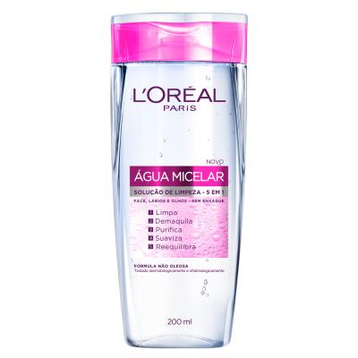 Tônico De Limpeza Facial 5 Em 1 L'oréal água Micelar 200ml