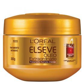 L'Oréal Paris Elseve Óleo Extraordinário Nutrição Intensa - Creme de Tratamento - 300g