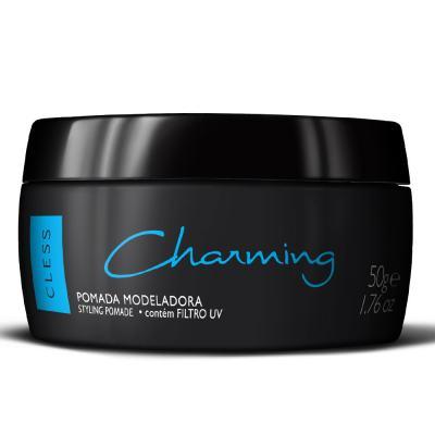 Imagem 1 do produto Pomada Modeladora para Cabelos Charming Black 50g