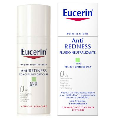 Imagem 1 do produto Creme Facial Eucerin Anti-Redness Fluído Neutralizante FPS 25 50ml